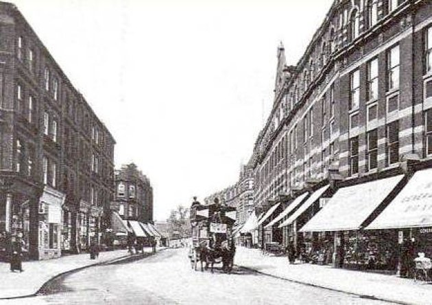 West End Lane in the late nineteenth century