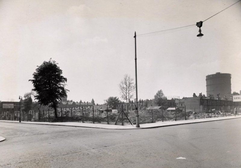 St Charles Square ready for redevelopment (1951)