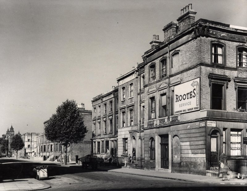 Rackham Street, eastern end (1950)