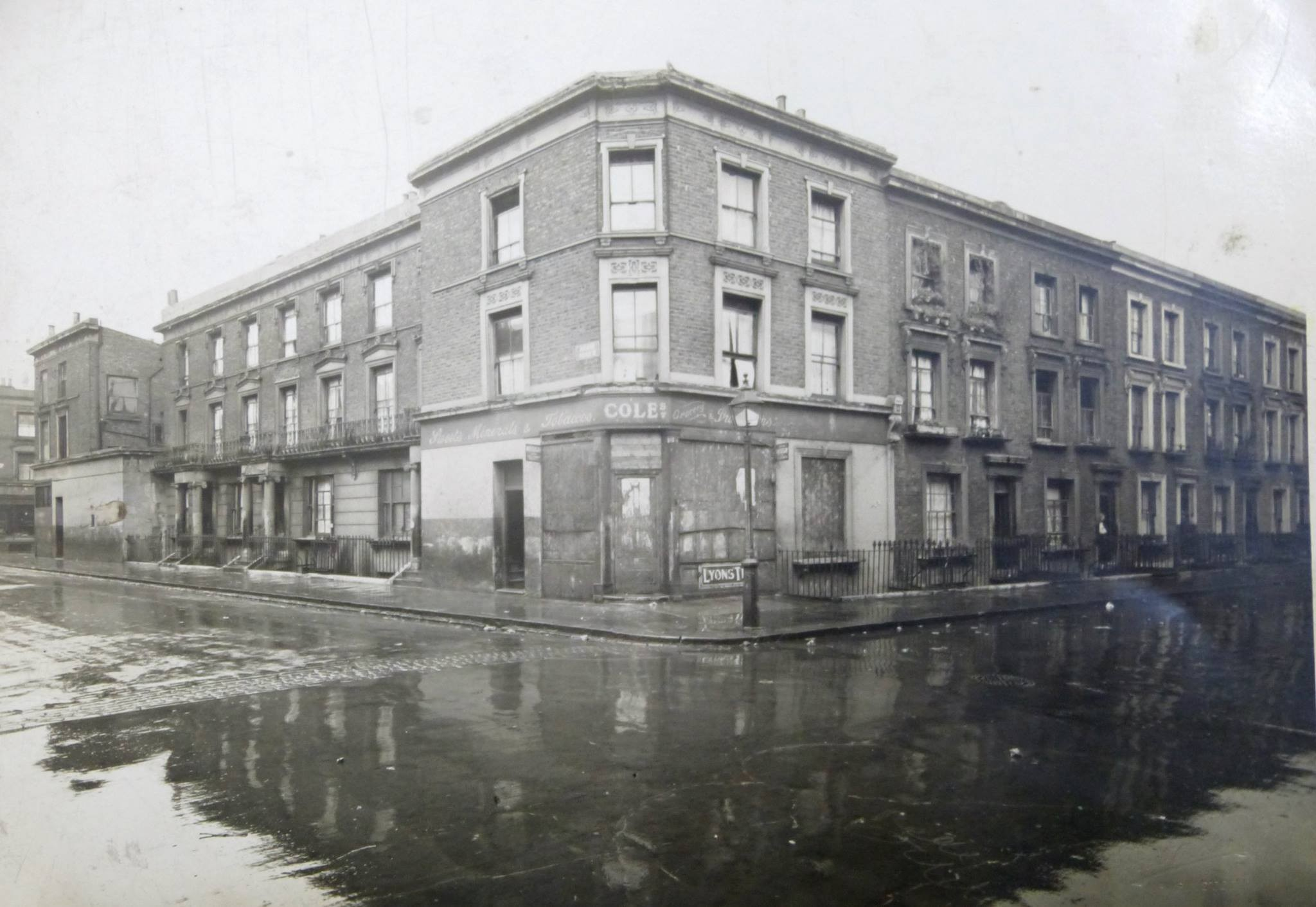 Adair Road junction with Southam Street (1932)