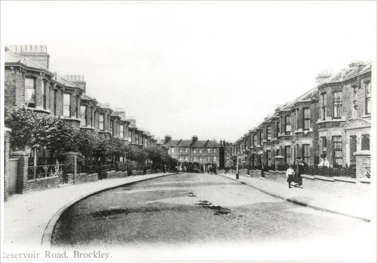 Reservoir Road,Brockley (1904)
