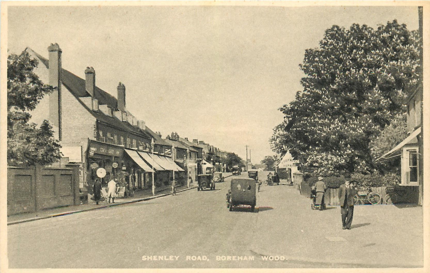 Junction of Shenley Road and Drayton Road
