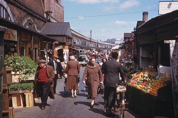 Shepherd's Bush Market in the 1950s