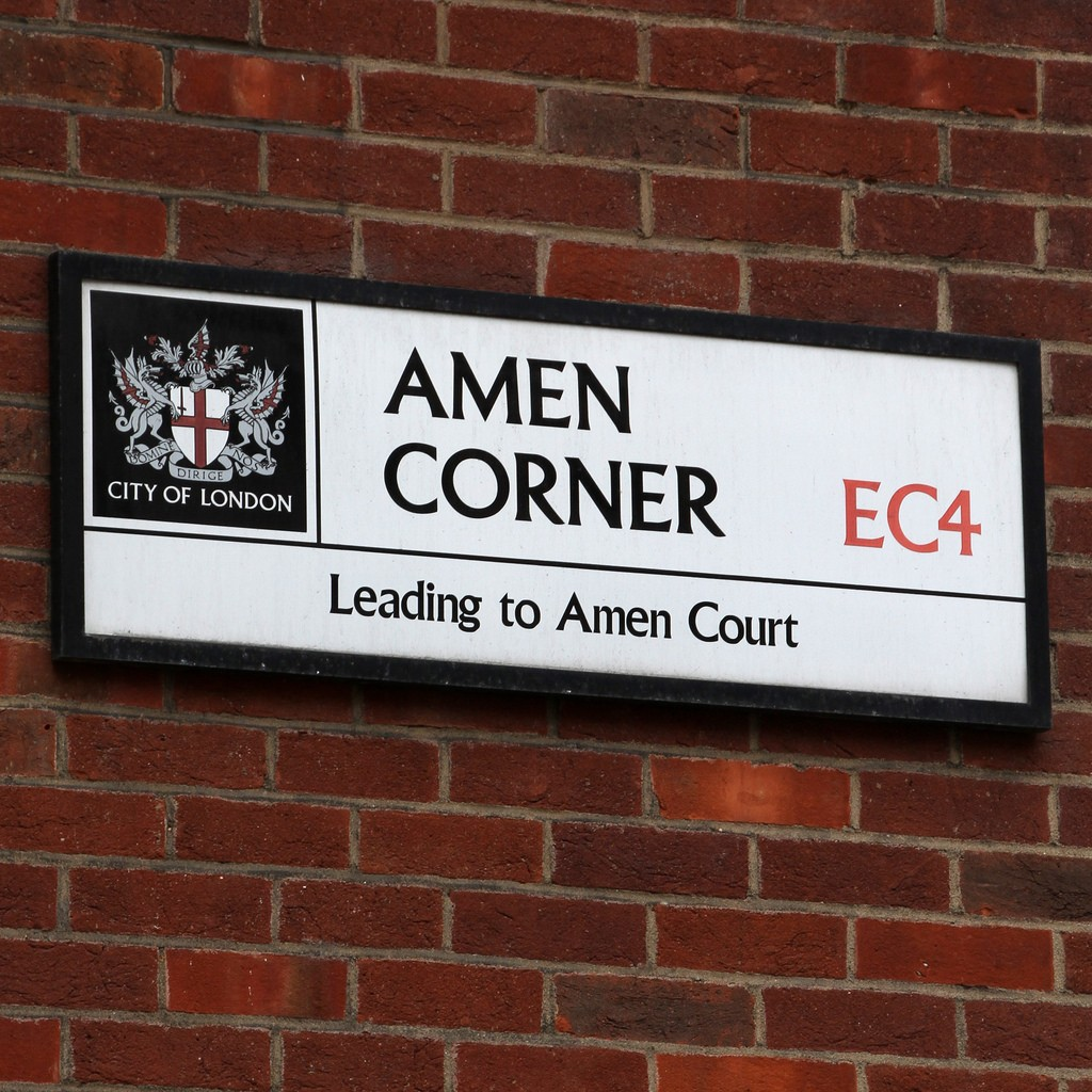 Amen Court, EC4M