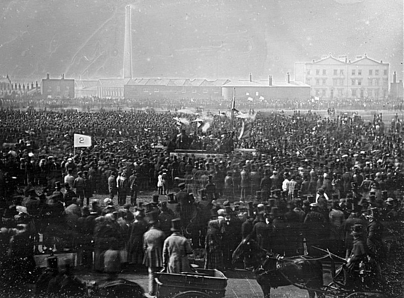 Chartist meeting, Kennington Common (1848)