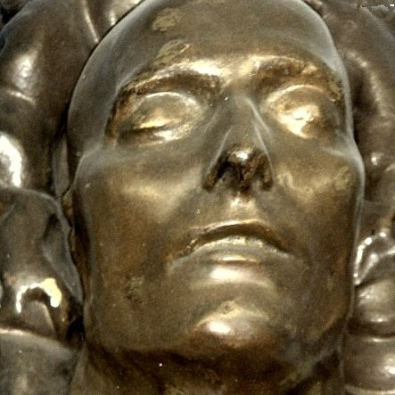 Napoleon's Death Mask, made in 1821 by Barham House resident, Francis Burton M.D., the uncle of explorer Richard Francis Burton