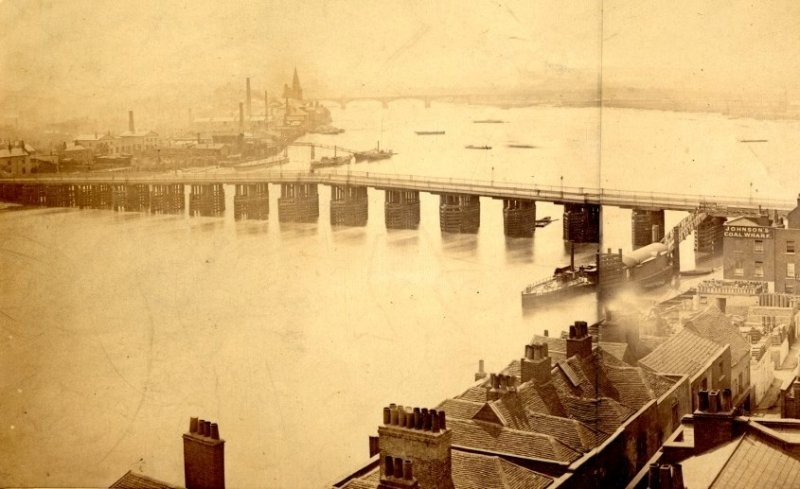 Battersea Bridge (1860s)
