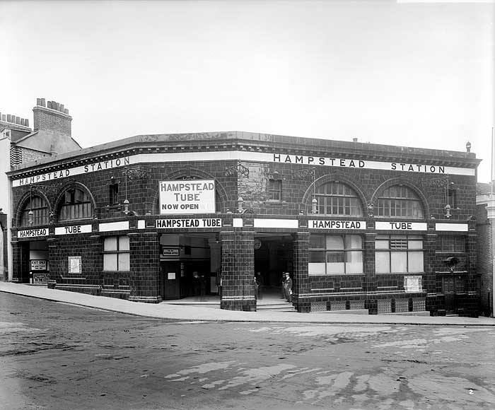 Hampstead station (1907)
