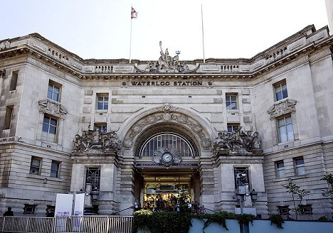 Victory Arch, London Waterloo station. Wikimedia Commons/Prioryman