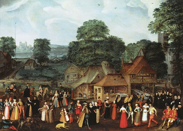 Fete at Bermondsey – 1569