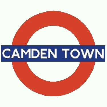 Camden Town station roundel
