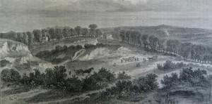 Hampstead Heath in 1840.